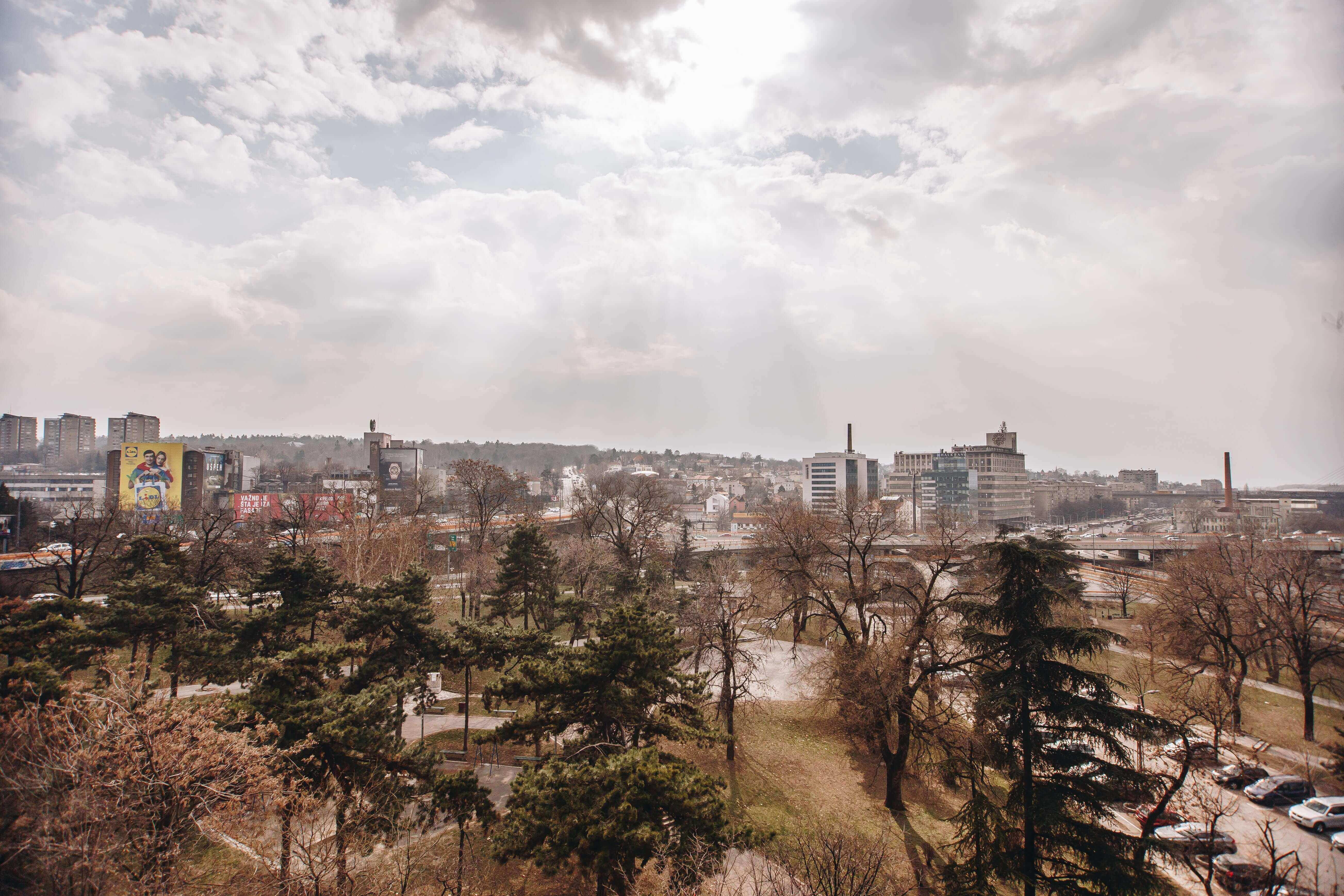 belgrade skyline